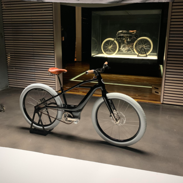 Harley-Davidson показал свой первый электровелосипед