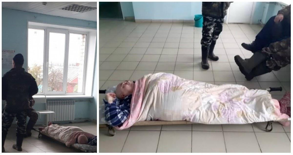 60-летний пациент с пневмонией 4 часа пролежал на полу в больнице