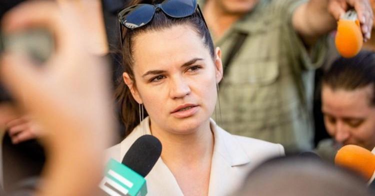 Тихановская планирует выйти из карантина 2 ноября