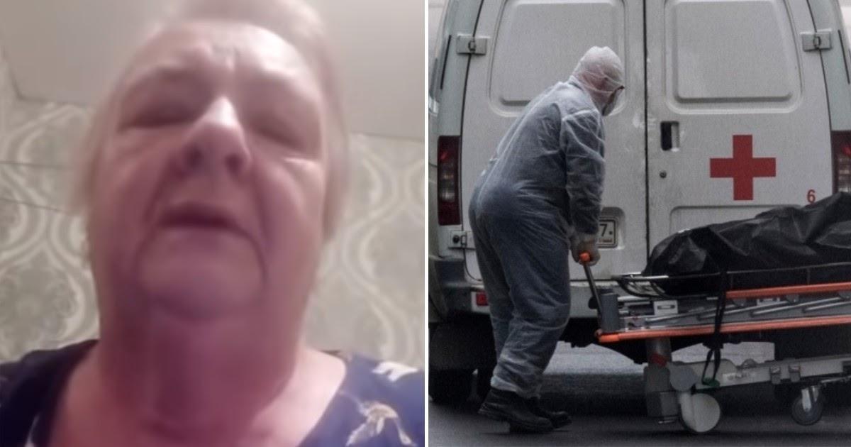 Заболевшая ковидом пенсионерка записала видеообращение и скончалась