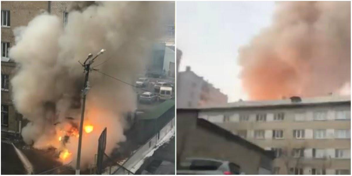 «Взорвался кислород»: взрыв в поликлинике Челябинска прогремел на весь город