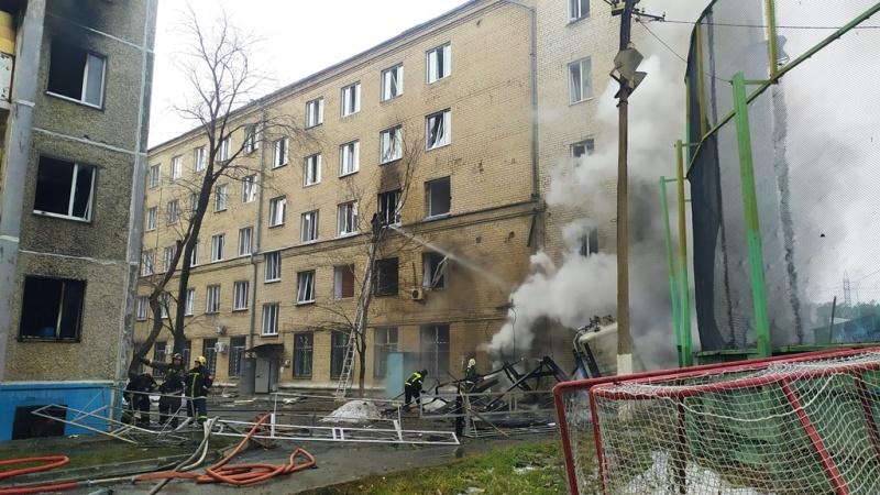 Названа причина пожара в челябинской больнице, где взорвались кислородные баллоны