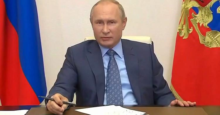 Путин внес в Госдуму законопроект о формировании Совета Федерации
