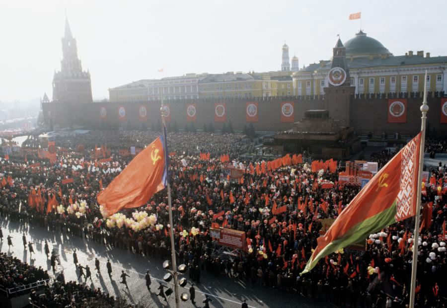 В Москве отменили марш в честь парада 7 ноября 1941 года