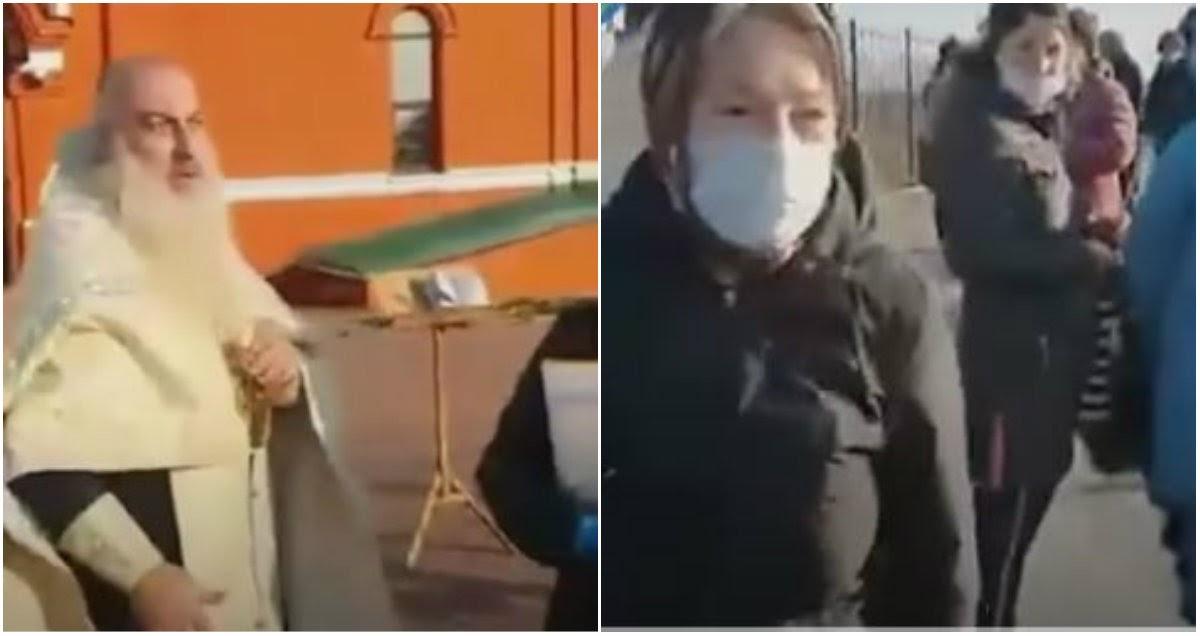 Священник устроил скандал на отпевании в Липецкой области