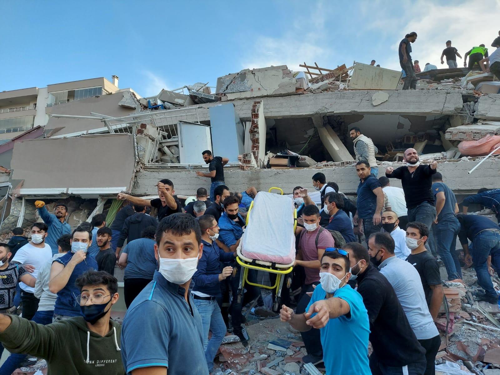 Количество жертв землетрясения в Турции достигло 58