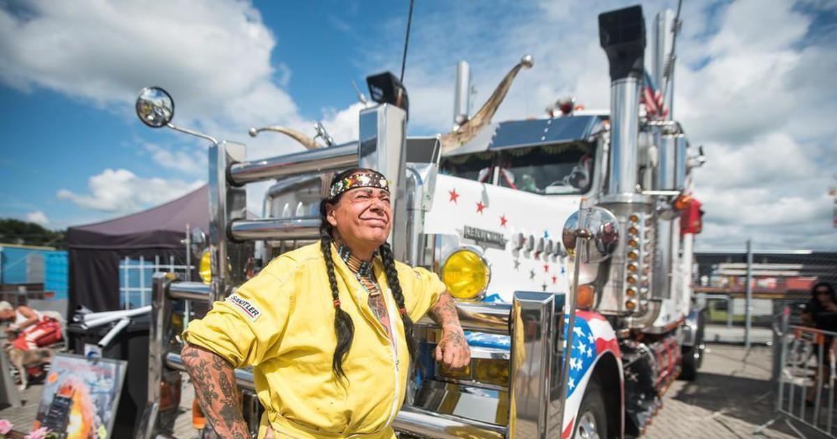 Фото Как проходил крупнейший в Европе фестиваль грузовиков