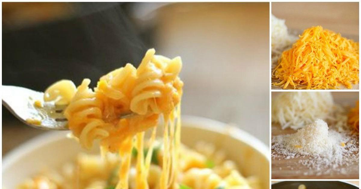 Фото Паста с сырным соусом