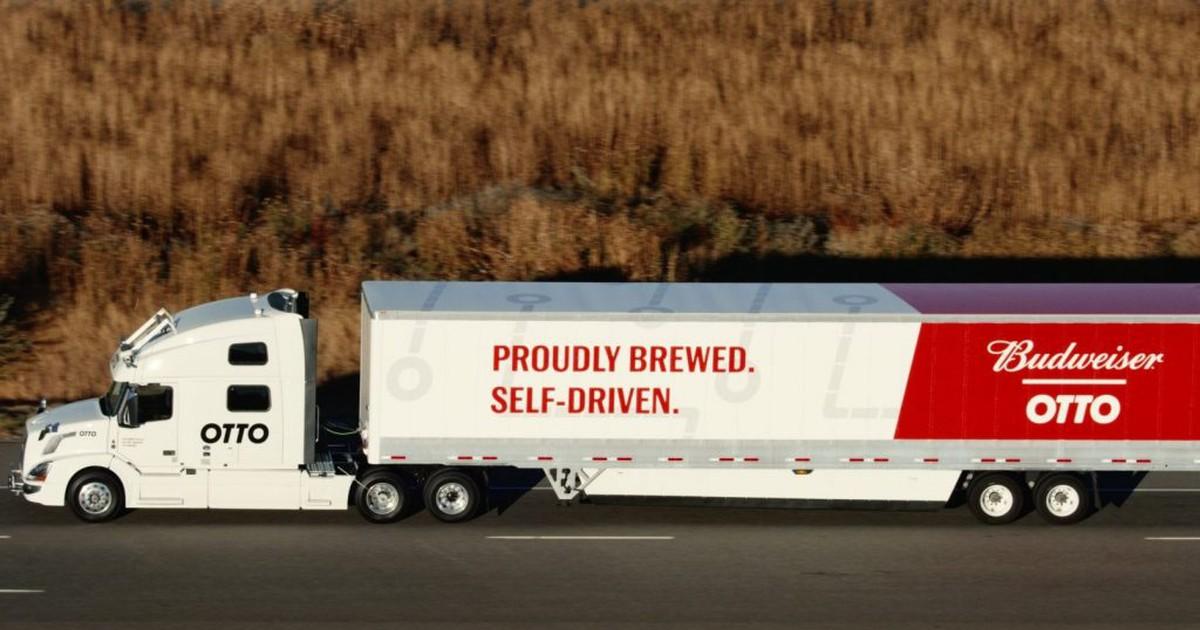 Фото Забитый пивом грузовик проехал 200 км без водителя