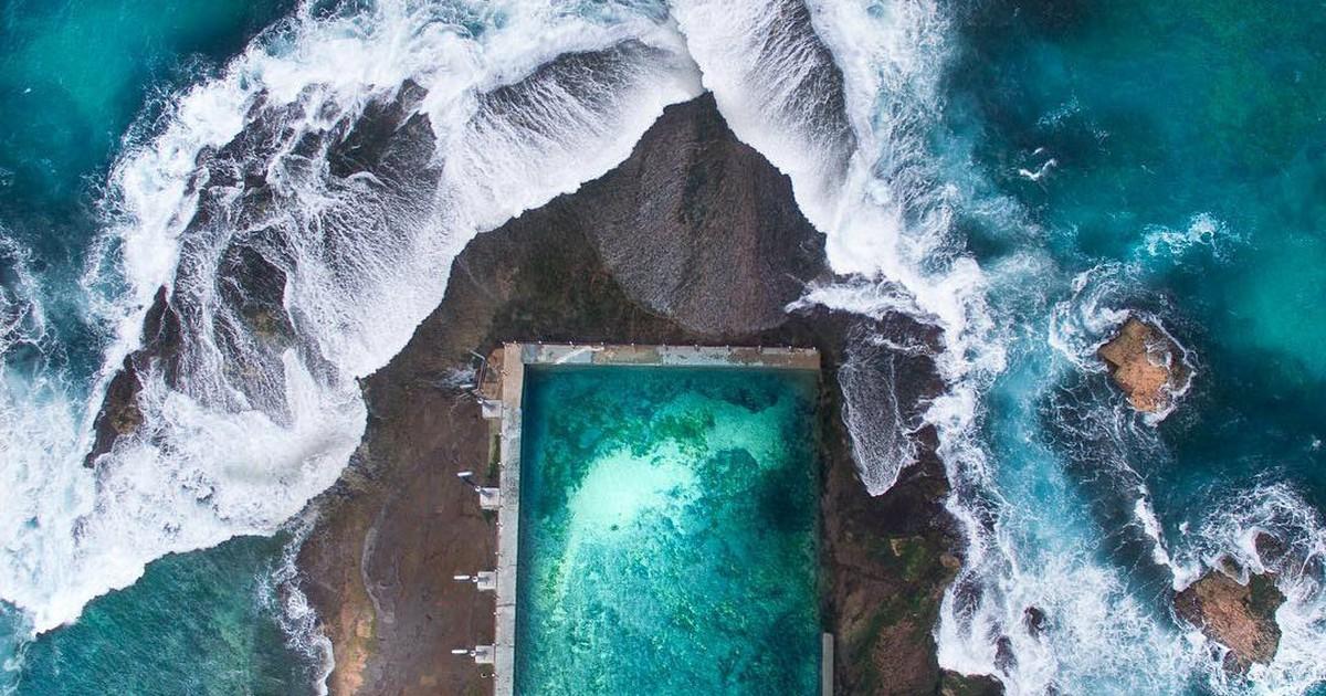 Фото Молодой фотограф делает завораживающие абстрактные снимки береговой линии при помощи дрона