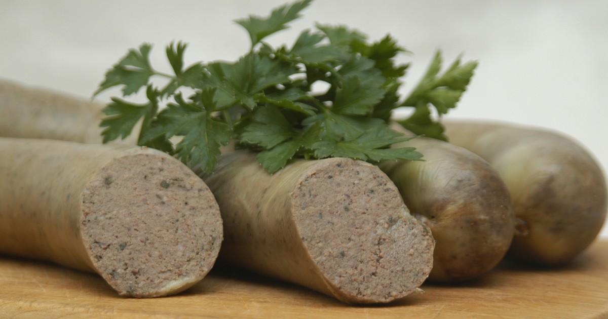 Фото Домашняя печеночная колбаса