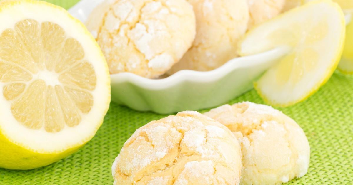 Фото Лимонное печенье на кефире