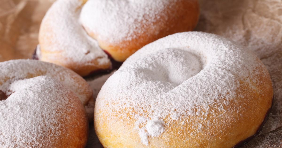 Фото Испанские булочки Энсаймадас — это оригинальные булочки в виде спирали. В них можно добавлять различную начинку — фрукты, ягоды, творог.