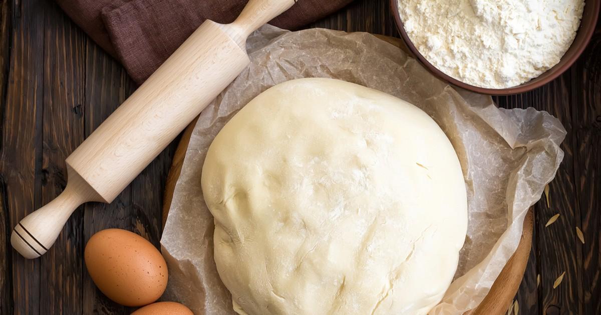 Фото Сырное тесто на кефире