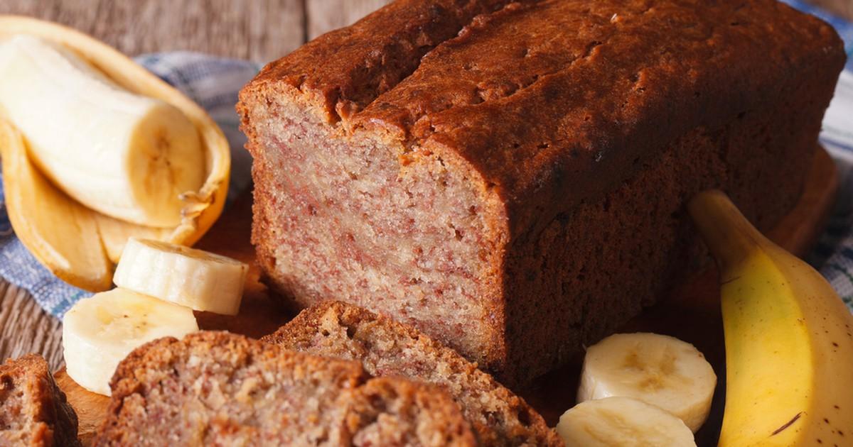 Фото Как приготовить вкусный банановый хлеб: рецепт ароматного, оригинального хлебушка-кекса с бананами!