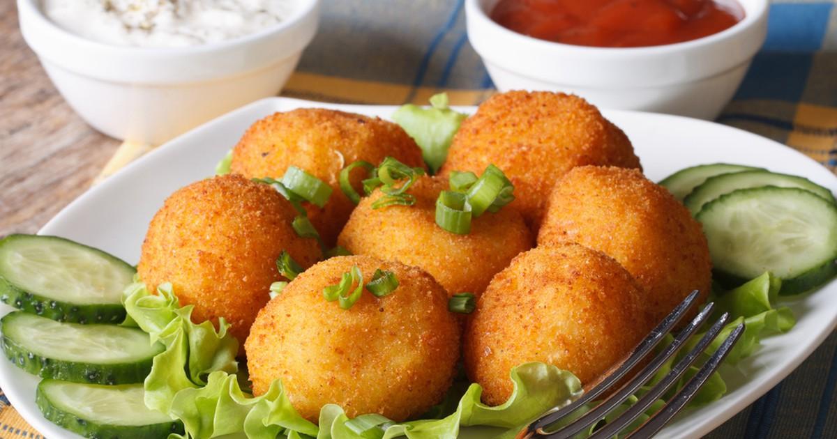 Фото Вкусные сырные шарики