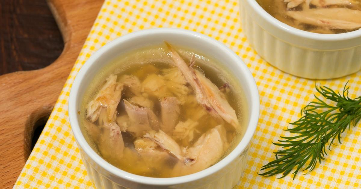 Фото Холодец из домашней курицы