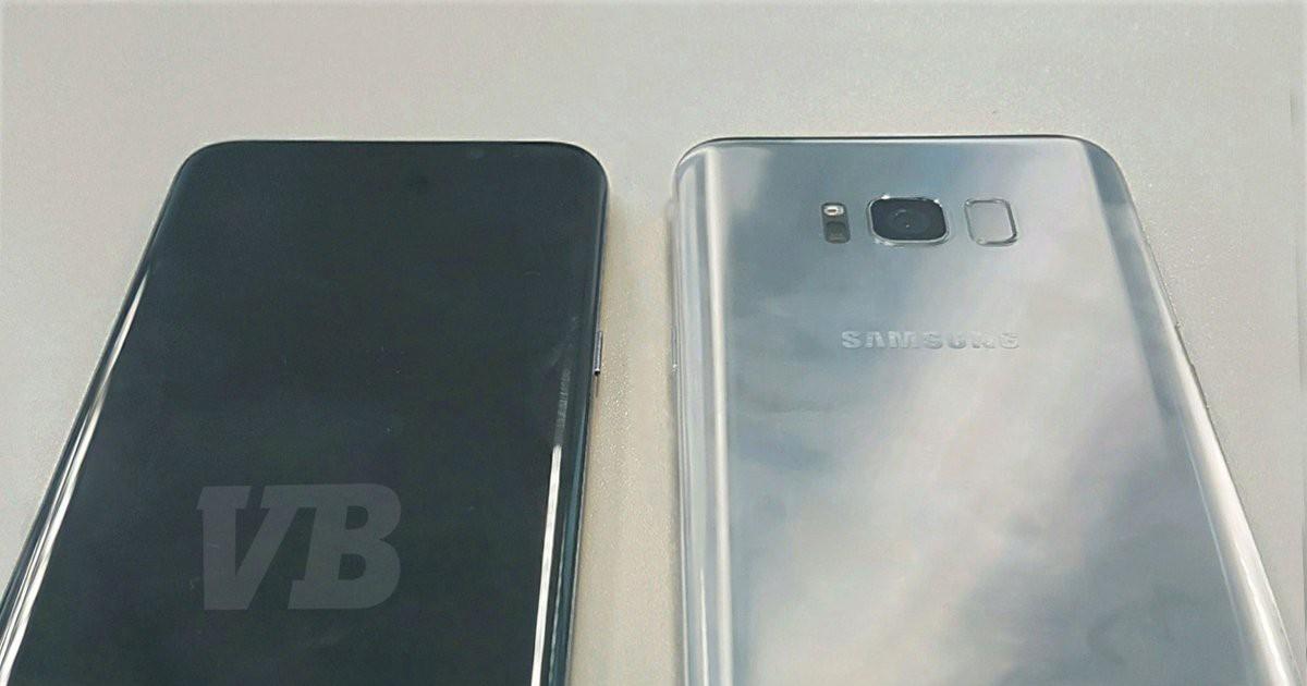 Фото Реальный Galaxy S8