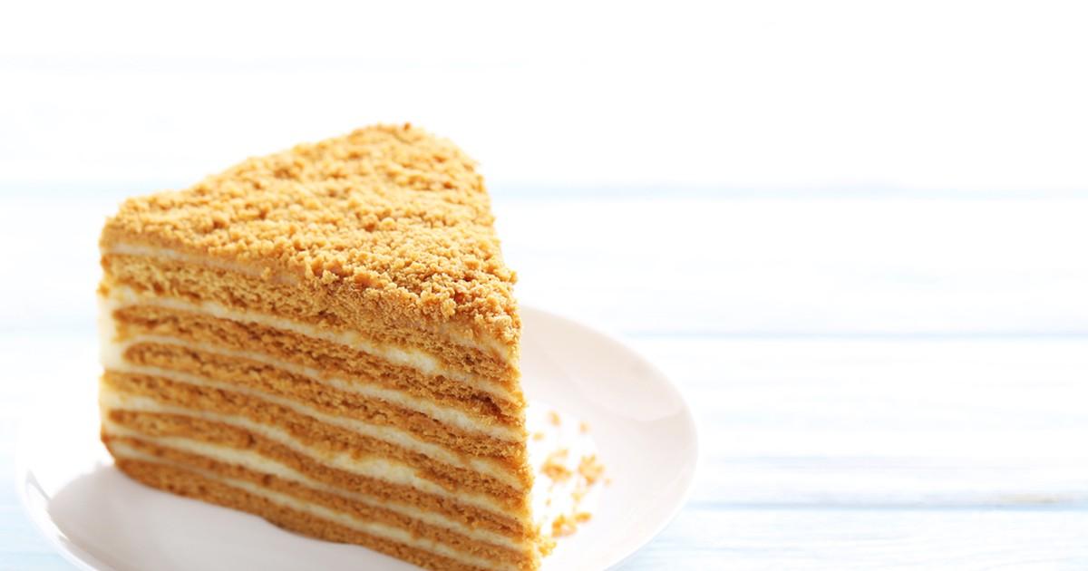 """Фото Вкусный и нежный торт """"Медовик"""" отлично подойдет для любого праздника, ведь очень сладкий и так нравится и взрослым и детям!"""