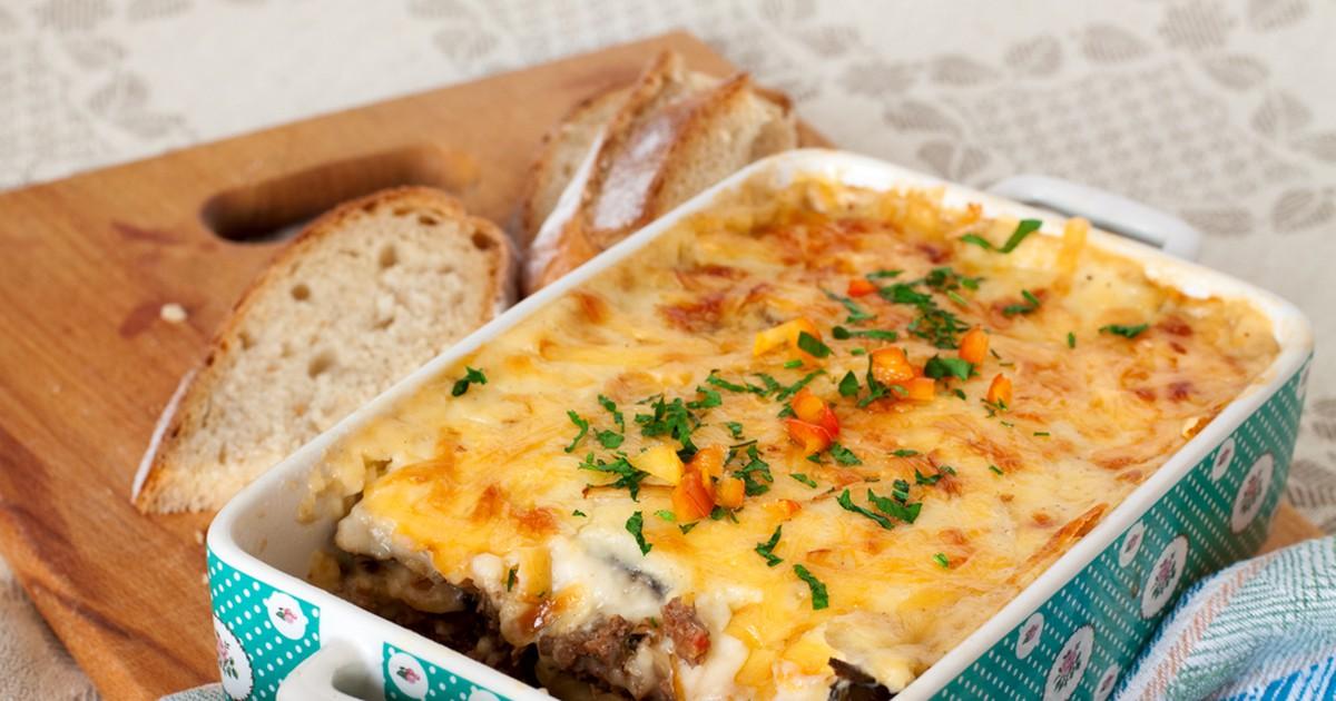Фото Запеканка из картофеля с рубленым мясом
