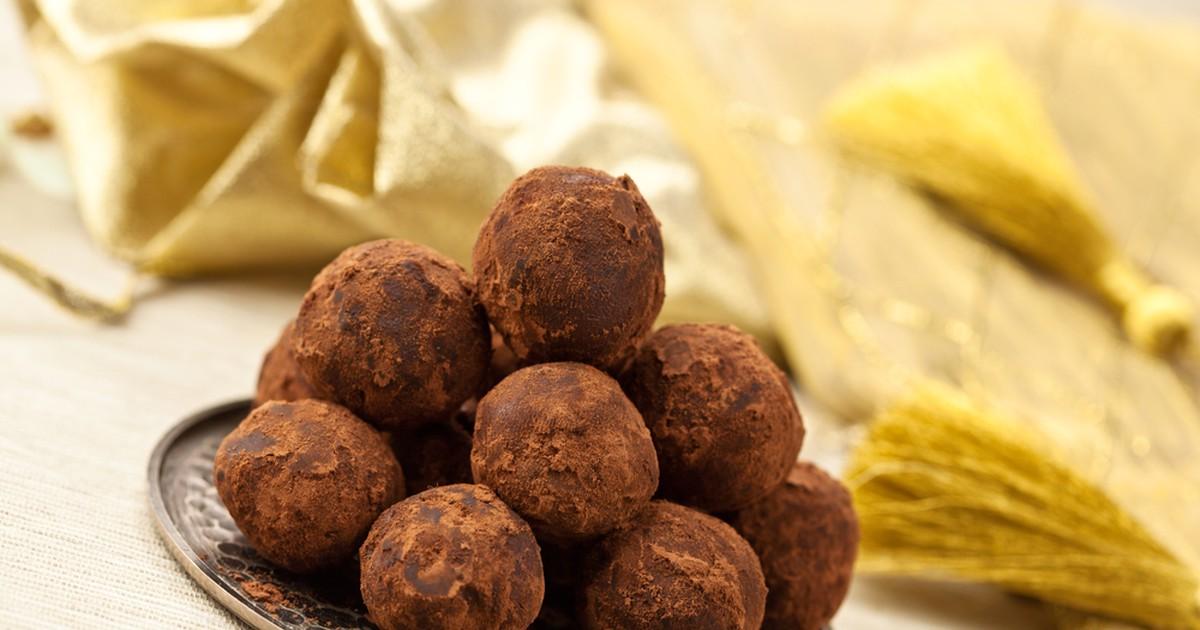 Фото Шоколадные трюфели майя