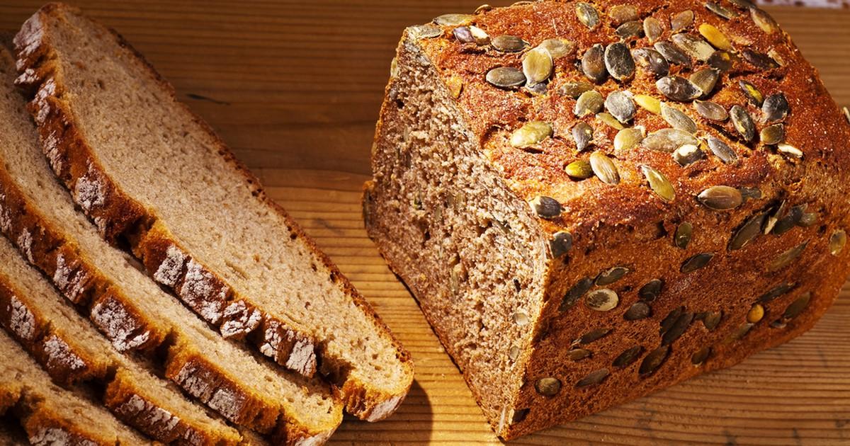 Фото Хлеб с тыквенными семечками