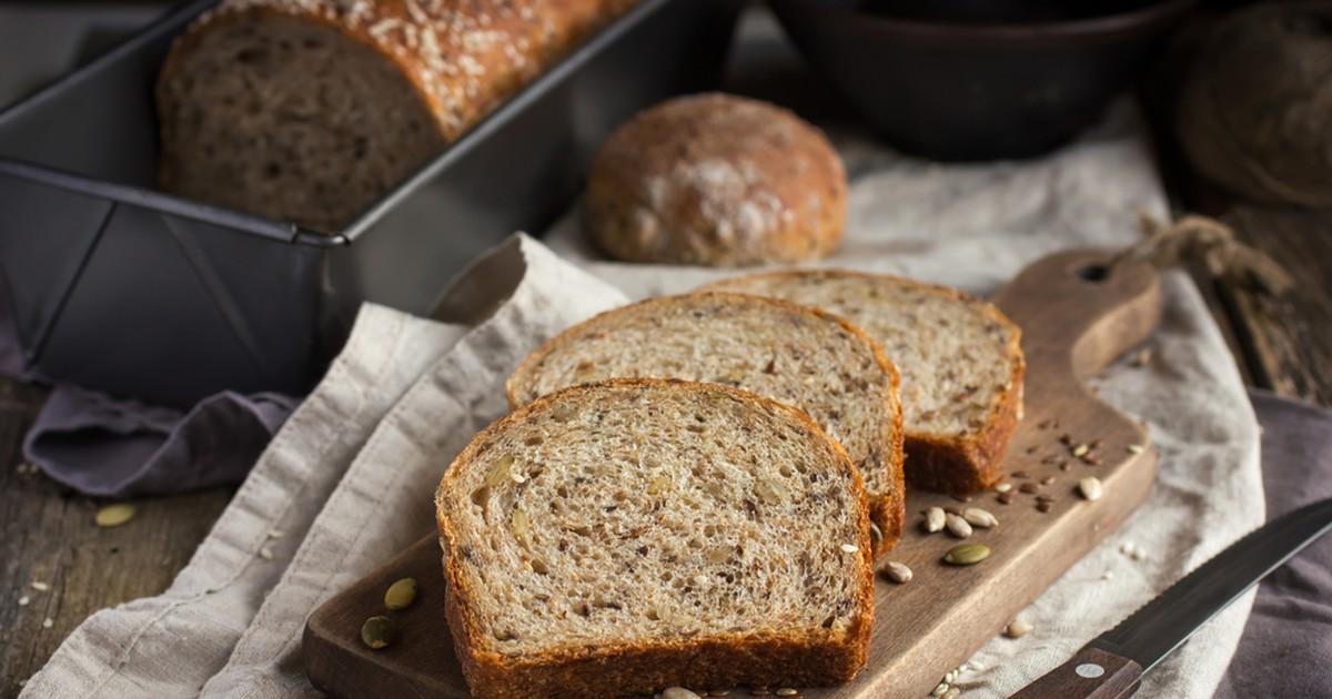 Фото Отрубной хлеб без муки