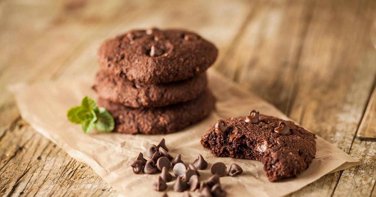 Фото Хрустающее шоколадное печенье