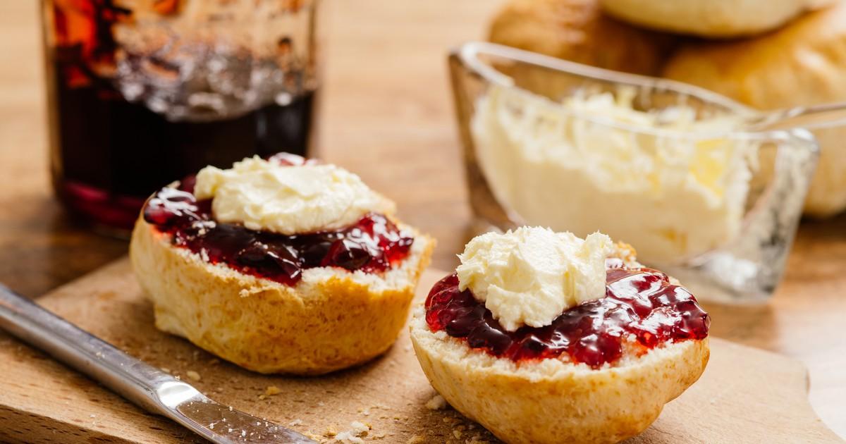 Фото Английские булочки к завтраку