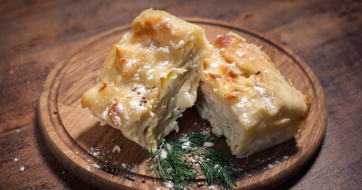 Фото Ачма с сыром и творогом