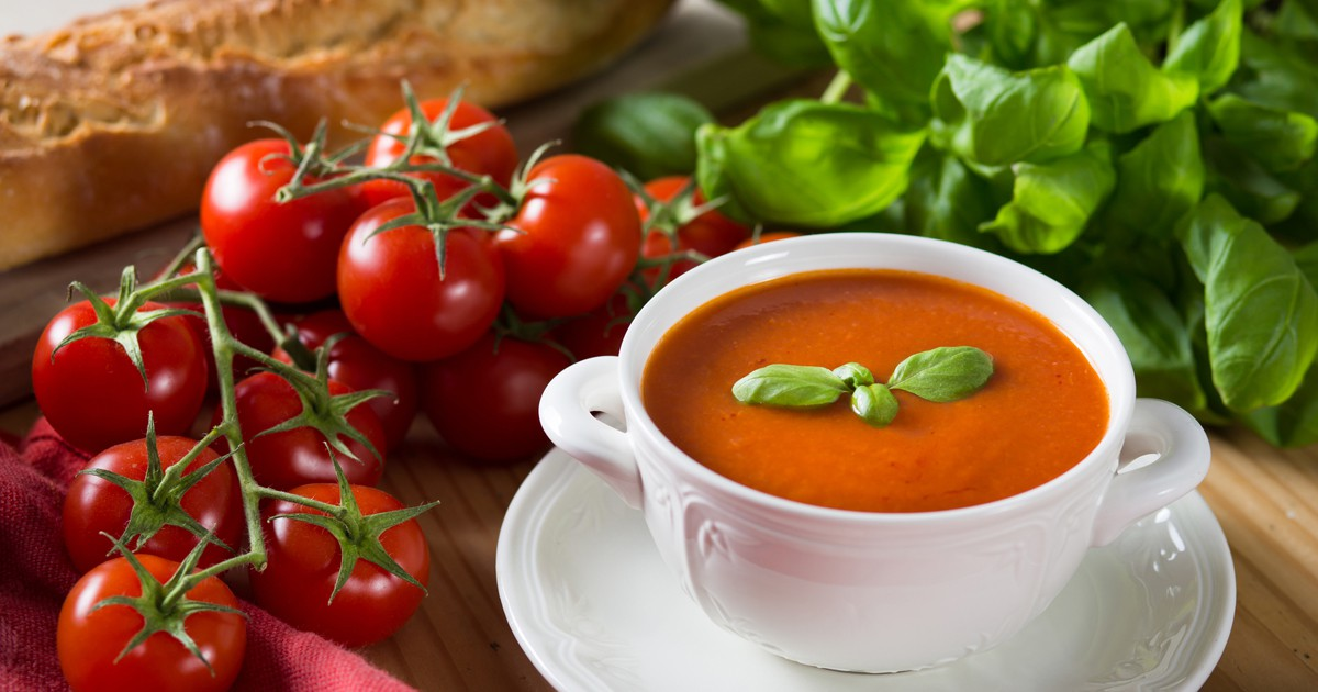 Фото Томатный  суп