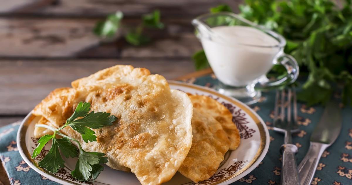 Фото Вкуснейшие лепешки с сыром из 3-х ингредиентов