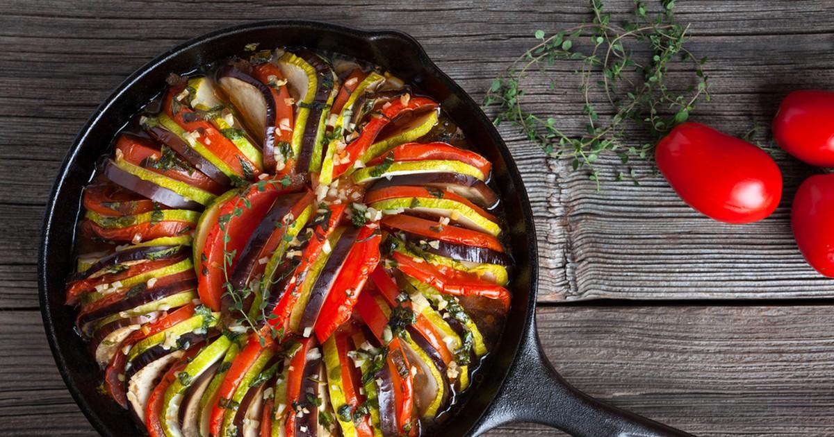 Фото Полезный и аппетитный овощной ужин