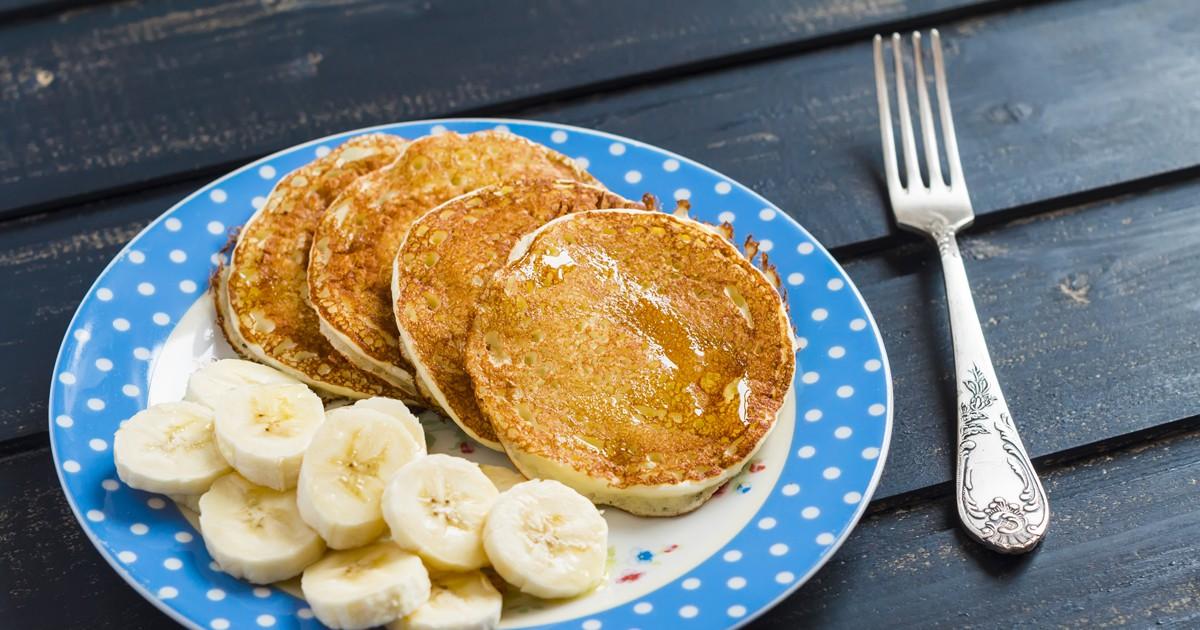 Фото Рецепт специально для любителей бананов и разных необычных вкусностей. Блинчики получаются невероятно ароматными и нежными со вкусом банана, ваши дети придут в восторг от такой вкусняшки на завтрак!