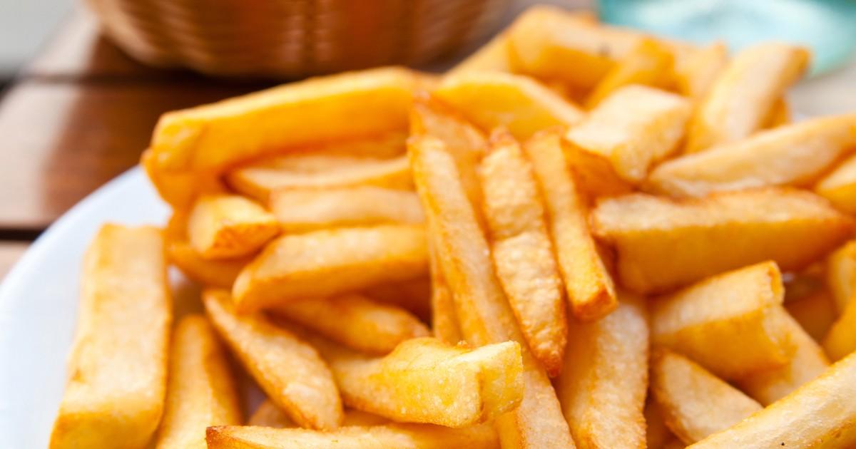 Фото Домашний картофель фри без масла
