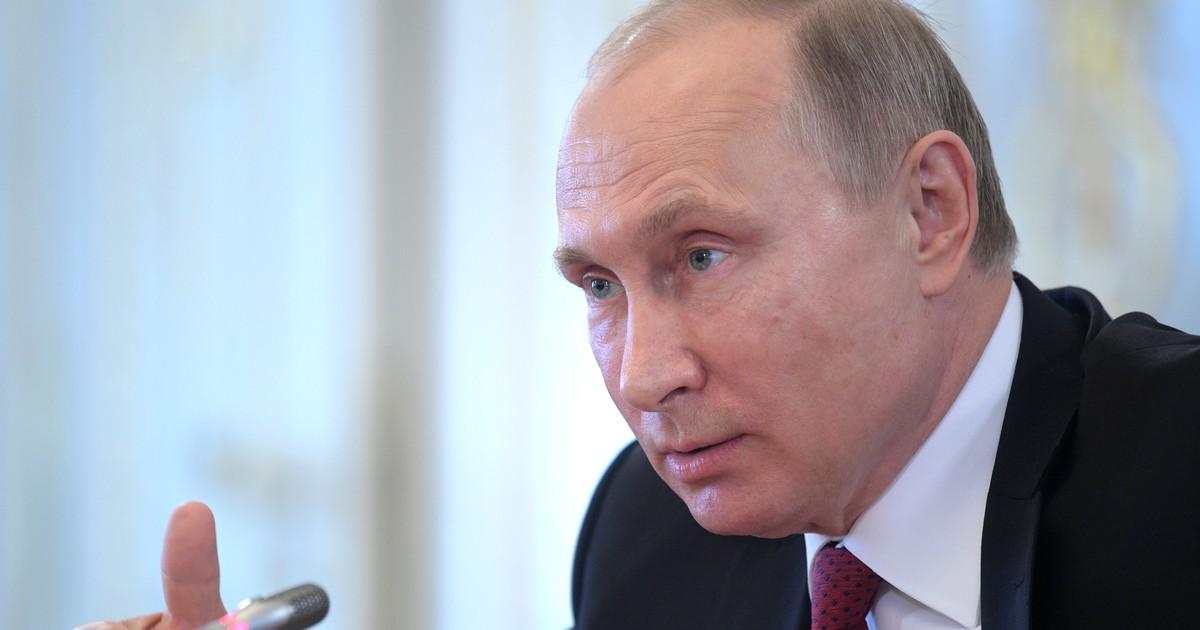 Фото Русофобия и санкции. Первые заявления Путина на Петербургском форуме