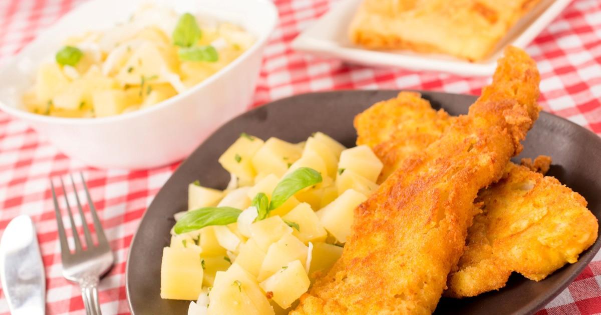 Фото Рецепт рыбы по-английски хорош тем, что приготовление не занимает много времени, рыба получается сочной, потому что готовится в панировке и сохраняет все соки. В качестве гарнира будет вареный картофель порезанный кубиками, ну очень вкусно!