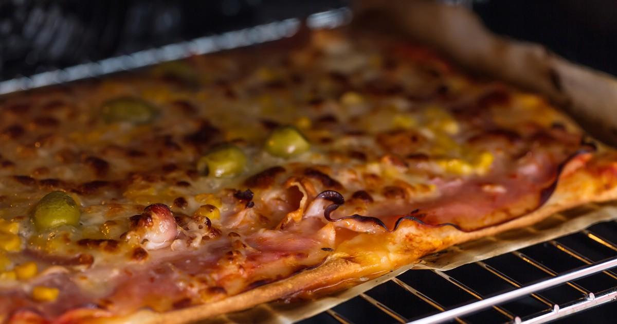 Фото Домашняя пицца в духовке