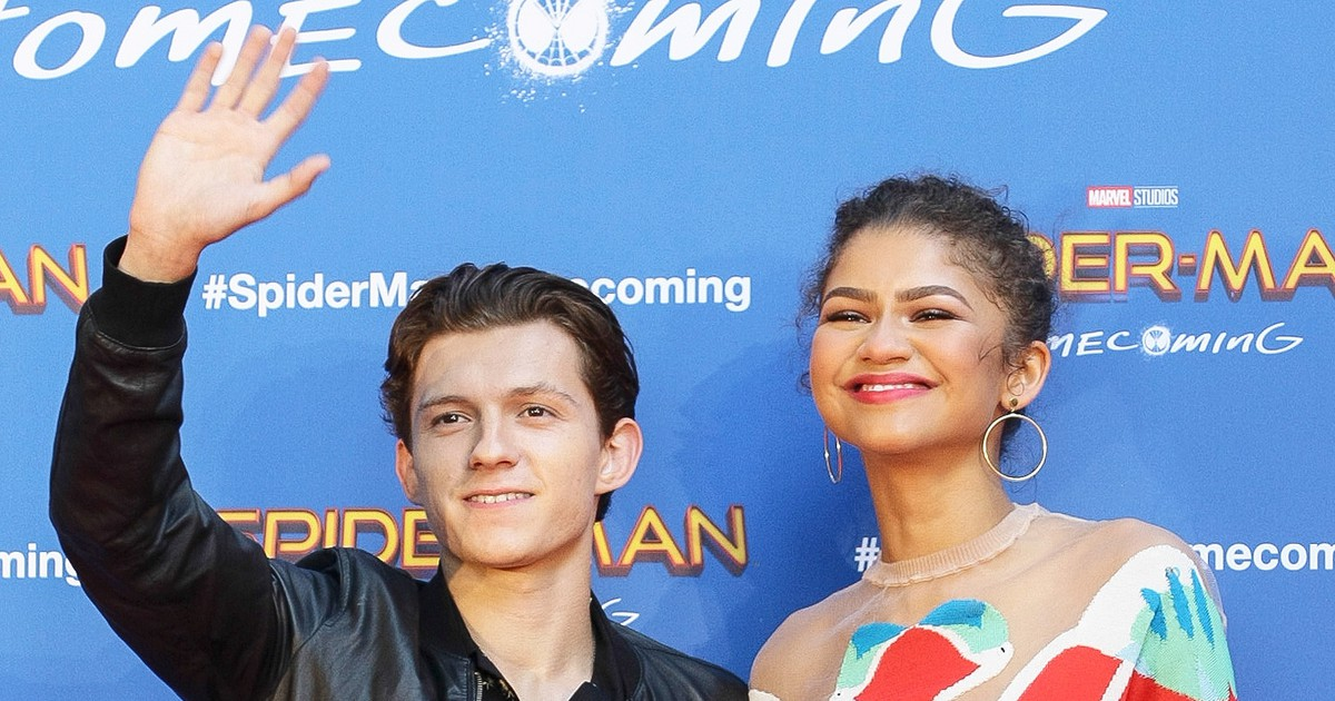 Photo of Zendaya and Spider-Man Costar Tom Holland Are Dating
