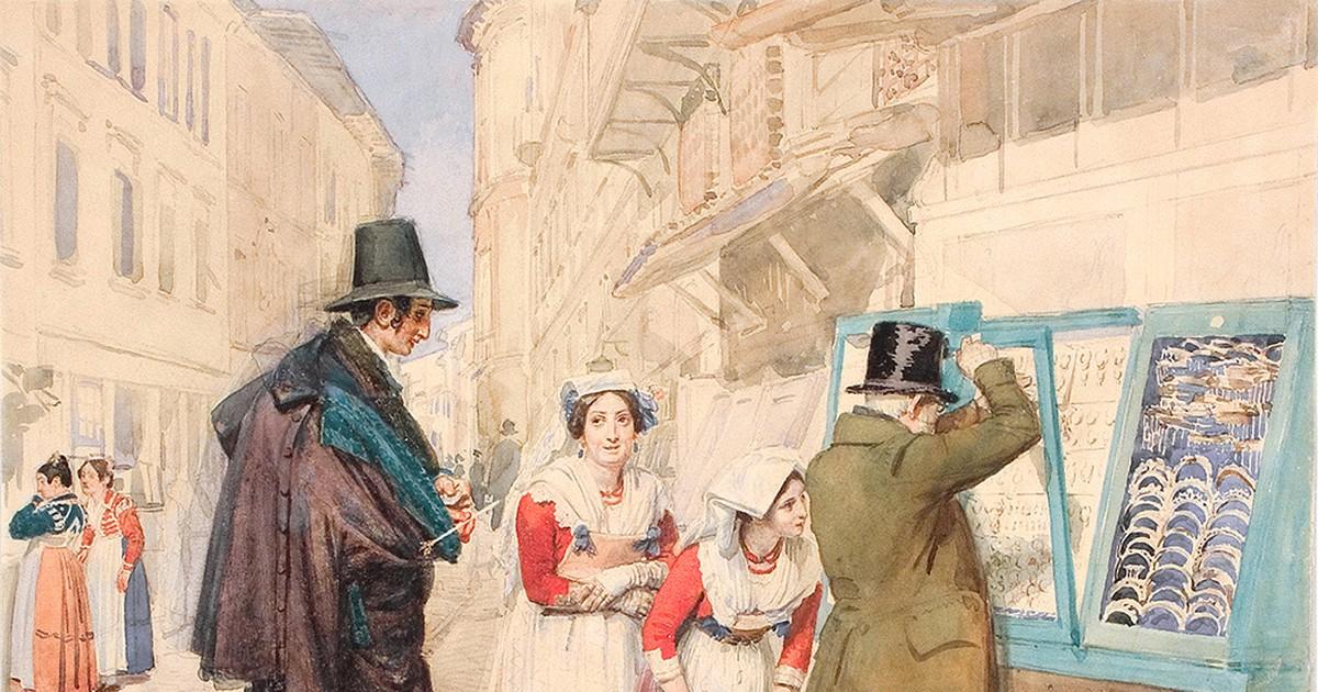 """Фото Куда сходить: выставка """"Конец прекрасной эпохи. Рисунок первой половины XIX века"""""""