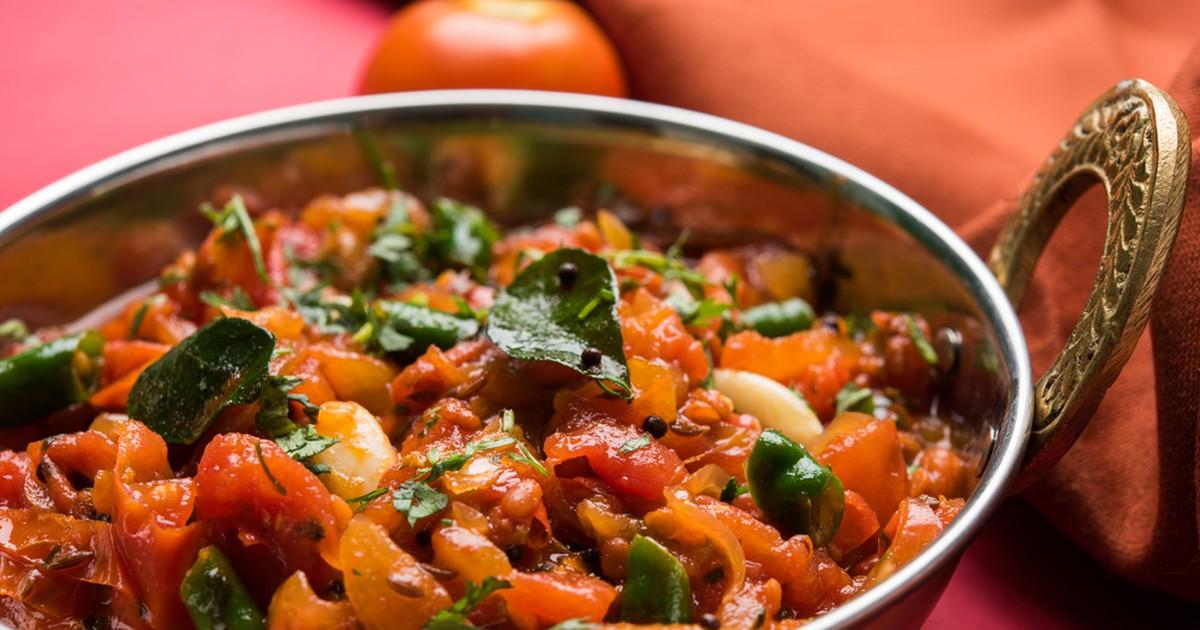 Фото Сабджи – индийское овощное рагу
