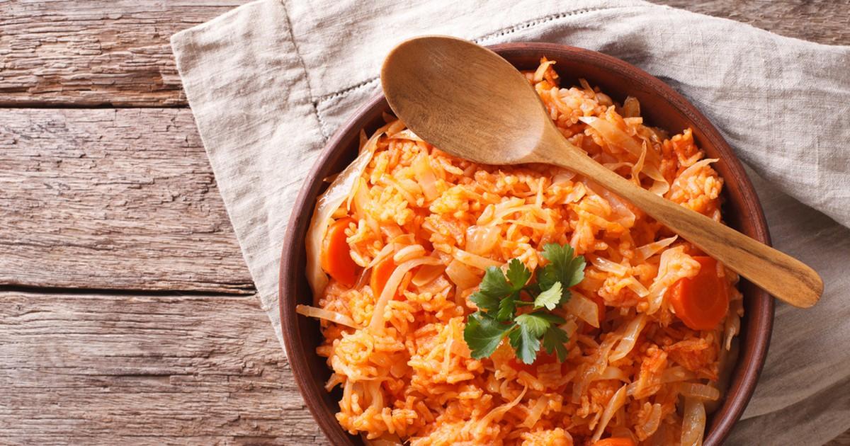 Фото Лаханоризо или рис с капустой по-гречески