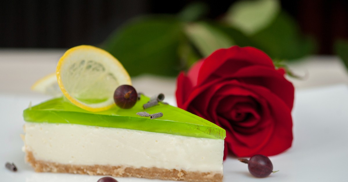 Фото Желейный чизкейк с лаймом: идеальный летний десерт