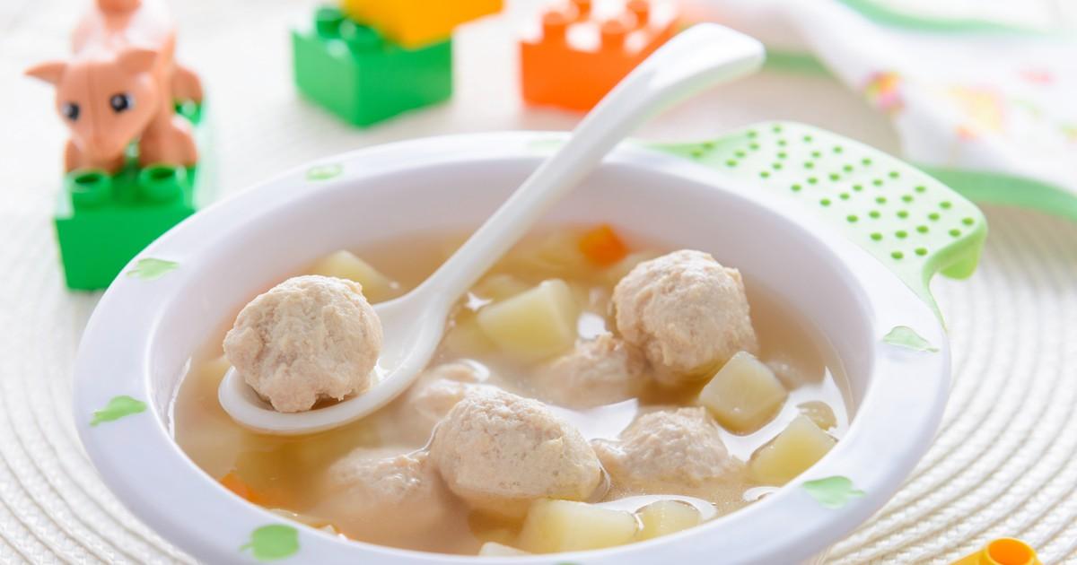 Фото Суп с куриными фрикадельками
