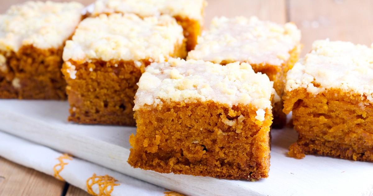 Фото Морковный пирог со сладкой глазурью