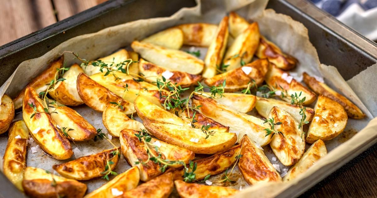 Фото Ароматный картофель по-деревенски