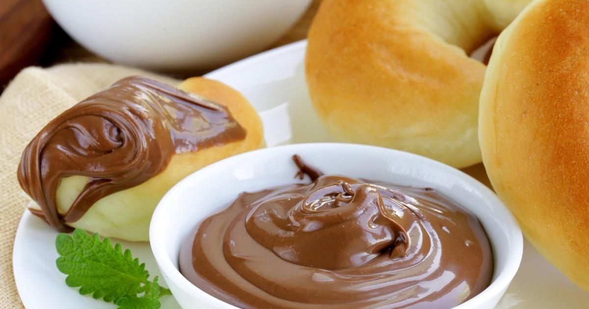 Фото Натуральная домашняя шоколадно-ореховая паста.