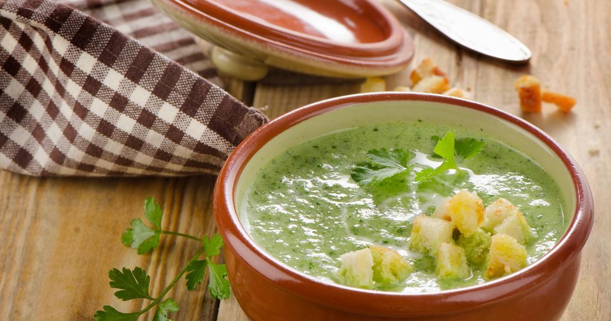 Фото Сливочный суп-пюре с брокколи