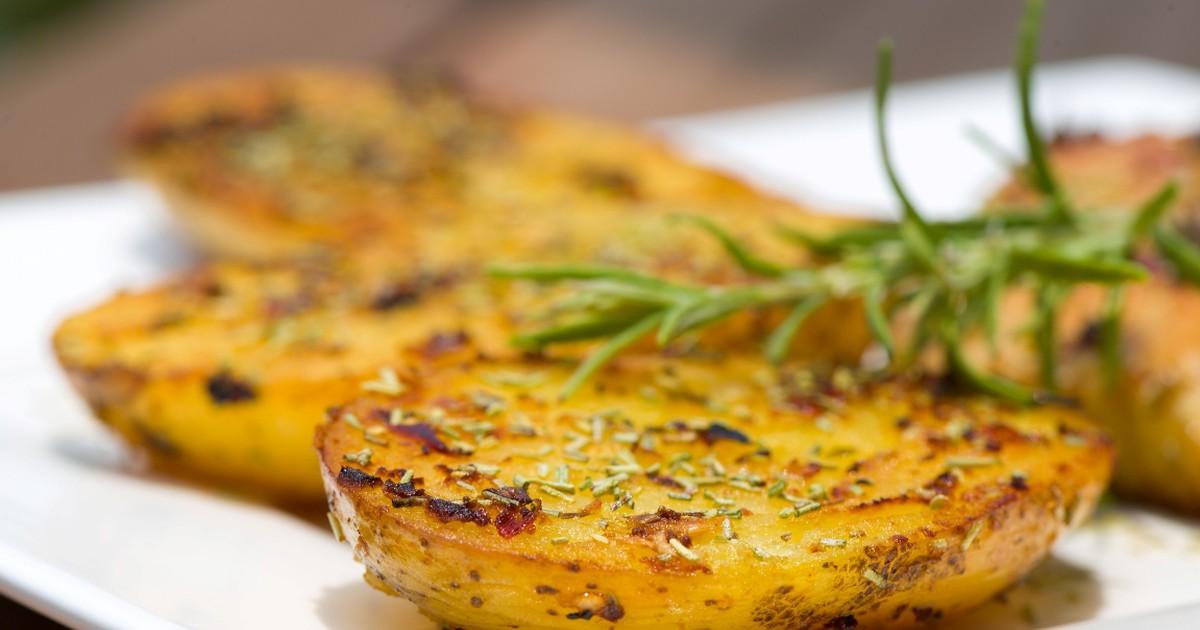 Фото Запеченный картофель по-турецки