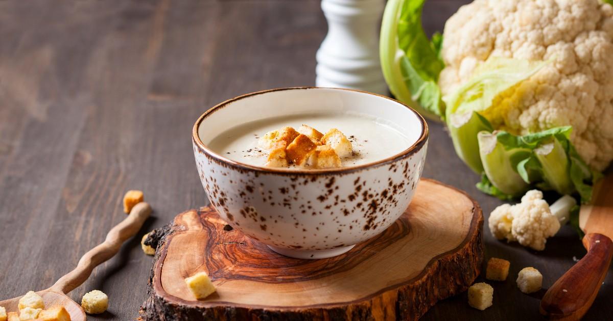 Фото Нежнейший суп-пюре с цветной капустой